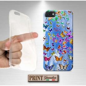 Cover - FARFALLE CIELO AZZURRO - Samsung
