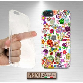 Cover - STICKER FLOWER - Samsung