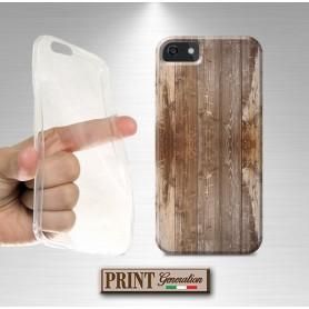 Cover stampata Effetto LEGNO 4 Samsung