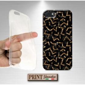 Cover - GEOMETRICA NERO E ORO - Samsung
