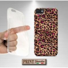 Cover stampata CHIC LEOPARDATA effetto glitter Samsung