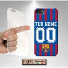 Cover Personalizzata - Calcio BARCELLONA CON NOME E NUMERO - Samsung
