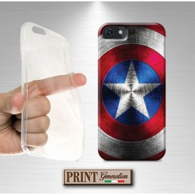 Cover - SCUDO CAPTAIN AMERICA - Asus