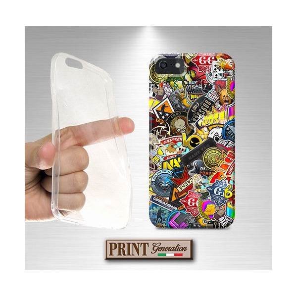 Cover Stickers Fantasia - STICKERS 3 - Huawei