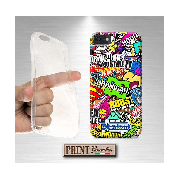 Cover Stickers Fantasia - STICKERS 4 - Huawei