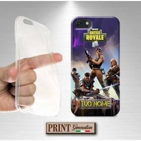 Cover Personalizzata - Videogame FORTNITE SOLDATI + TUO NOME - Huawei