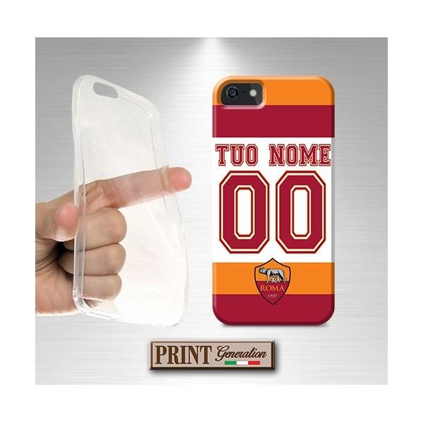 Cover Personalizzata - Calcio ROMA NOME E NUMERO - Wiko