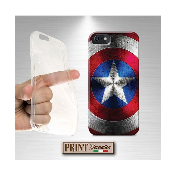 Cover - SCUDO CAPTAIN AMERICA - Wiko