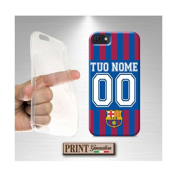 Cover Personalizzata - Calcio BARCELLONA CON NOME E NUMERO - Wiko
