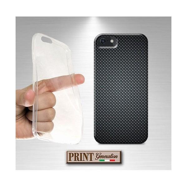 Cover - Effetto FIBRA CARBONIO 1 - iPhone