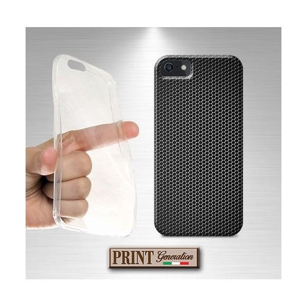 Cover - Effetto FIBRA CARBONIO 3 - iPhone