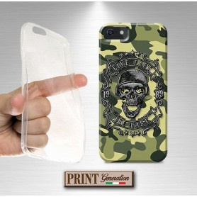 Cover - Mimetica SKULL CASCO DARK - iPhone