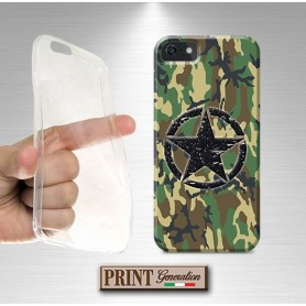 Cover - Mimetica STELLA ESERCITO - iPhone