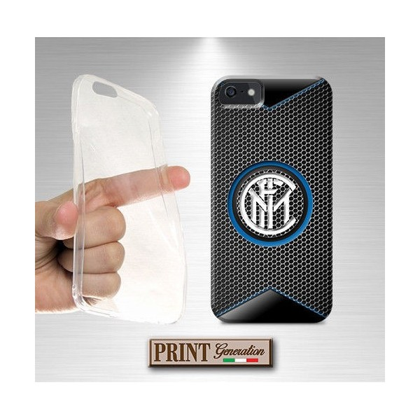 Cover - Calcio INTER FIBRA CARBONIO 1 - iPhone