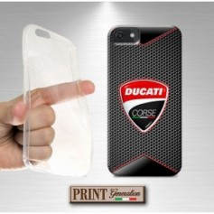 Cover - Moto DUCATI FIBRA CARBONIO - iPhone