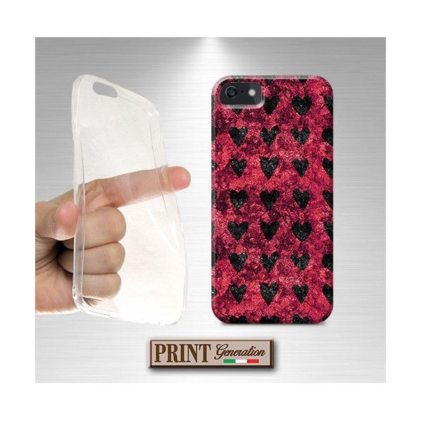 Cover Elegante - CUORI BRILLANTI - iPhone