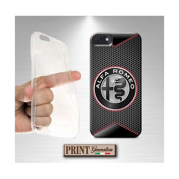 Cover - Auto ALFA ROMEO FIBRA CARBONIO - iPhone
