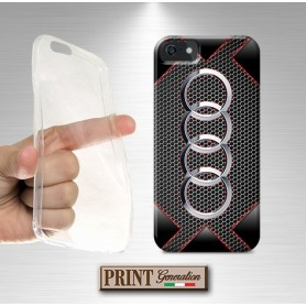 Cover - Auto AUDI BLACK - iPhone