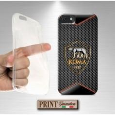 Cover - Calcio ROMA CARBONIO - iPhone
