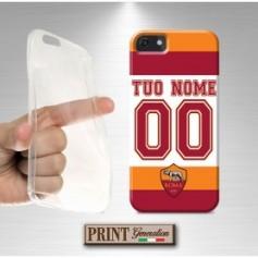 Cover Personalizzata - Calcio ROMA NOME E NUMERO - iPhone
