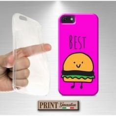 Cover - Coppia BEST FRIENDS HAMBURGHER E PATATINE - iPhone