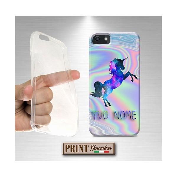 Cover - UNICORNO PERSONALIZZATO - iPhone