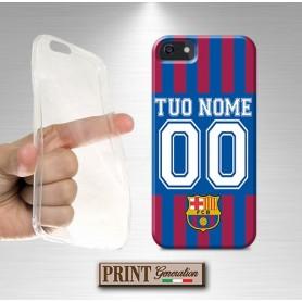 Cover Personalizzata - Calcio BARCELLONA CON NOME E NUMERO - iPhone