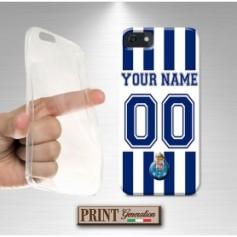 Cover Personalizzata - Calcio PORTO CON NOME E NUMERO - iPhone