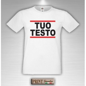 T-Shirt - RUN DMC - Personalizzata - Idea regalo