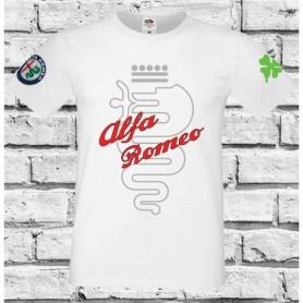 T-Shirt - ALFA ROMEO QUADRIFOGLIO - Italian Motors