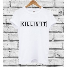 T-Shirt - KILLIN' IT - Horror - Hipster
