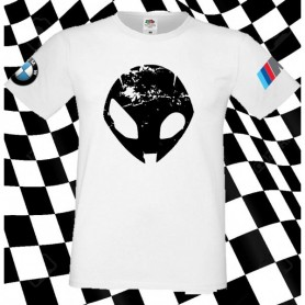 T-Shirt - ALIENO CON LOGO BMW - Motor