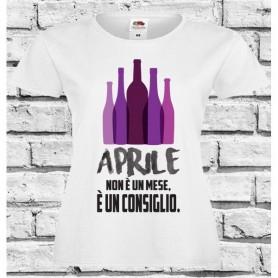 T-Shirt - APRILE NON E' UN MESE - Idea regalo - Frasi divertenti