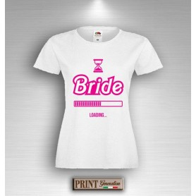 T-Shirt - BRIDE LOADING - Addio al Nubilato