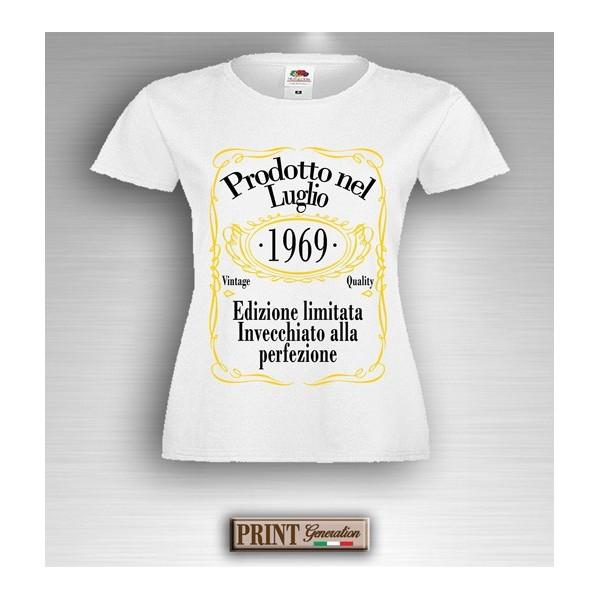 T-Shirt - EDIZIONE LIMITATA - Data personalizzata - Idea regalo - Frasi divertenti