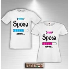 T-Shirt - FUTURO SPOSO FUTURA SPOSA - Addio al Celibato e Nubilato - Coppia