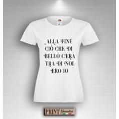 T-Shirt - IL BELLO TRA DI NOI ERO IO - Idea regalo - Frasi divertenti