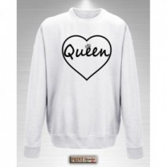Felpa - QUEEN CUORE - Idea regalo
