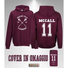 Felpa con cappuccio - BEACON HILLS LACROSSE MCCALL + Cover omaggio - Sport