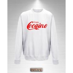 Felpa Enjoy Cocaine Goditi la Cocaina