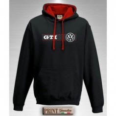 Felpa con cappuccio - GOLF GTI W - Auto motors tuning