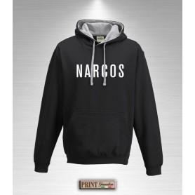 Felpa con cappuccio - NARCOS - Idea regalo