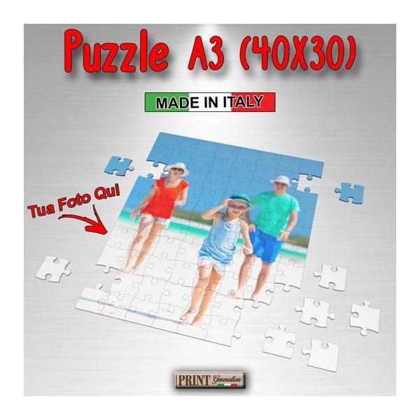 Puzzle Personalizzato - FOTO A TUA SCELTA - Dimesioni 40x30 cm - Idea regalo