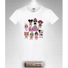 T-shirt LOL Surpirese Maglietta Slim Fit Bambina