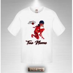 T-shirt Bambino Personalizzata Ladybug con Tuo Nome