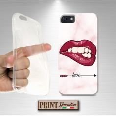 Cover Bocca scritte amore Samsung