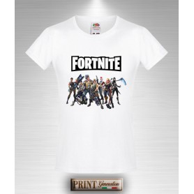 T-shirt slim fit Bambina Favij Youtuber