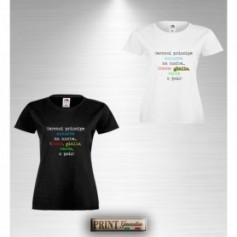 T-Shirt Donna - CERCASI PRINCIPE AZZURRO