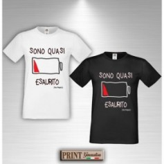 T-Shirt - SONO QUASI ESAURITO