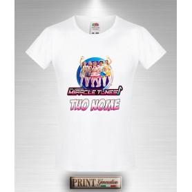 T-Shirt Miracles Tunes Personalizzata con Tuo Nome